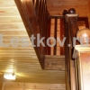 99.72 Лестницы деревянные Чехов, Серпухов, Подольск на заказ фото изготовление под ключ