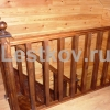 99.74 Лестницы деревянные Чехов, Серпухов, Подольск на заказ фото изготовление под ключ